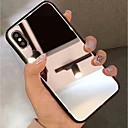 olcso iPhone tokok-tok az Apple iphone xr xs xs max tükör hátsó fedél szilárd színű kemény edzett üveg iPhone xs x 8 8 plusz 7 7plus 6s 6s plus se 5 5s