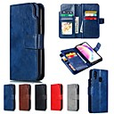 cheap Cases / Covers for Huawei-Case For Huawei P20 / P20 Pro Wallet / with Stand Full Body Cases Solid Colored Hard PU Leather for Huawei P20 / Huawei P20 Pro / Huawei P20 lite / P10 Lite / P10