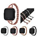 رخيصةأون أساور ساعات FitBit-حزام إلى Fitbit Versa فيتبيت عصابة الرياضة / تصميم المجوهرات ستانلس ستيل شريط المعصم