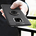 cheap Galaxy S Series Cases / Covers-Case For Huawei Huawei Mate 20 Pro / Huawei Mate 20 Ring Holder Back Cover Solid Colored Soft TPU for Mate 10 / Mate 10 pro / Mate 10 lite / Mate 9 Pro