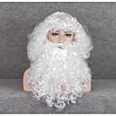economico Collana-Costumi da Babbo Natale Teen Per adulto Unisex Natale Natale Capodanno Feste / vacanze Incollato Bianco Costumi carnevale Vacanza