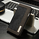 رخيصةأون حافظات / جرابات هواتف جالكسي S-غطاء من أجل Apple iPhone 8 / iPhone 7 محفظة / حامل البطاقات / مع حامل غطاء كامل للجسم لون سادة قاسي منسوجات