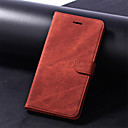 cheap iPhone Cases-Case For Huawei P20 Pro / P20 lite Wallet / Card Holder / with Stand Full Body Cases Solid Colored Hard PU Leather for Huawei P20 / Huawei P20 Pro / Huawei P20 lite