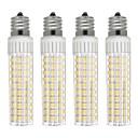 hesapli Dekorasyon Etiketleri-4adet 8.5 W 1105 lm E17 LED Mısır Işıklar T 125 LED Boncuklar SMD 2835 Kısılabilir Sıcak Beyaz / Serin Beyaz 110 V
