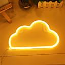 hesapli Yenilikçi LED Işıklar-1pc Gece aydınlatması LED Sıcak Beyaz DC Powered Çok güzel <5 V