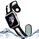 저렴한 아이폰 케이스-시계 밴드 용 Apple Watch Series 4/3/2/1 Apple 스포츠 밴드 / 클래식 버클 실리콘 손목 스트랩