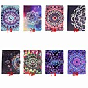 cheap iPad  Cases / Covers-Case For Apple iPad (2018) / iPad Pro 11'' Card Holder / Flip / Pattern Full Body Cases Mandala / Flower Hard PU Leather for iPad Air / iPad 4/3/2 / iPad (2018)