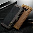 رخيصةأون إكسسوارات سامسونج-غطاء من أجل Samsung Galaxy Note 9 / Note 8 محفظة / حامل البطاقات / مع حامل غطاء كامل للجسم لون سادة قاسي منسوجات