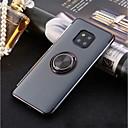billige Skjermbeskyttere til Huawei-Etui Til Huawei P20 Pro / P20 lite Ringholder / Ultratynn / Gjennomsiktig Bakdeksel Ensfarget Myk TPU til Huawei P20 / Huawei P20 Pro / Huawei P20 lite