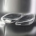 رخيصةأون جسم السيارة الديكور والحماية-Factory OEM 2pcs سيارة اغطية السيارات الخفيفة شفاف تصميم جديد إلى كشافات من أجل Corvette 2005 / 2006 / 2007