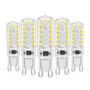 ieftine Becuri LED Bi-pin-YWXLIGHT® 5pcs 6 W Becuri LED Bi-pin 450-550 lm G9 T 22 LED-uri de margele SMD 2835 Intensitate Luminoasă Reglabilă Decorativ Alb Cald Alb Rece Alb Natural 220-240 V 110-130 V / 5 bc / RoHs
