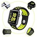 voordelige Apple Watch-bandjes-Horlogeband voor Apple Watch Series 4/3/2/1 Apple Sportband / Klassieke gesp Silicone Polsband