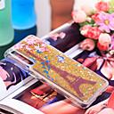 رخيصةأون ساعات النساء-غطاء من أجل Huawei Huawei P20 Pro ضد الصدمات / بريق لماع غطاء خلفي برج ايفل / بريق لماع ناعم TPU