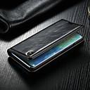 رخيصةأون أساور ساعات هواتف Xiaomi-غطاء من أجل Huawei Huawei Mate 20 pro محفظة / حامل البطاقات / مع حامل غطاء كامل للجسم لون سادة قاسي جلد PU