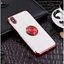 Недорогие Кейсы для iPhone-чехол для яблока iphone xr xs xs max держатель для колец / ультратонкая задняя крышка однотонное мягкое тпу для iphone x 8 8 plus 7 7plus 6s 6s plus se 5 5s