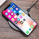 Недорогие Беспроводные зарядные устройства-Беспроводное зарядное устройство Зарядное устройство USB USB Беспроводное зарядное устройство / Qi 1 USB порт 1 A DC 5V для iPhone X / iPhone 8 Pluss / iPhone 8