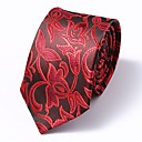رخيصةأون ربطات عنق-ربطة العنق ورد / زخرفات رجالي عمل / أساسي