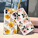 billige Headset og hovedtelefoner-Etui Til Apple iPhone XR / iPhone XS Max Mønster Bagcover Planter / Blomst Blødt TPU for iPhone XS / iPhone XR / iPhone XS Max