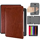 cheap Tablet Cases-Case For Amazon Kindle PaperWhite 4 Shockproof / Auto Sleep / Wake Up Full Body Cases Solid Colored Hard PU Leather for Kindle PaperWhite 4