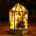 ieftine Becuri De Mașină LED-1 buc LED-uri de lumină de noapte Alb Cald Controlat de la distanță / Creative / Încântător