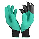 cheap Bathroom Gadgets-1 Pair Garden Digging Gloves with Claws Digging Mud Excavation Protective Insulating Gloves