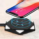 Недорогие Беспроводные зарядные устройства-Беспроводное зарядное устройство Зарядное устройство USB USB Беспроводное зарядное устройство / Qi 1 USB порт 0.5 A DC 5V для iPhone X / iPhone 8 Pluss / iPhone 8
