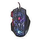 رخيصةأون ماوس الكمبيوتر-HXSJ H300 السلكي USB لعب الفأر / ماوس مكتب ضوء LED 5500 dpi 7 pcs مفاتيح 7 مفاتيح قابلة للبرمجة