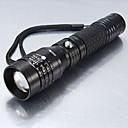 ieftine Lanterne de Mână-5 Lanterne LED LED LED 1 emițători 1200 lm 5 Mod Zbor Tactic Zoomable Rezistent la apă Camping / Cățărare / Speologie Utilizare Zilnică Ciclism