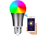 cheap Smart Lights-E27 7W LED Smart WIFI Bulbs 22 LED Beads SMD 5730 Works With Amazon Alexa / APP Control / Google Home RGBW 85-265V