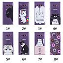 ieftine Machiaj & Îngrijire Unghii-Maska Pentru Samsung Galaxy Note 9 / Note 8 Model Capac Spate Pisica / Hrană / Cuvânt / expresie Moale TPU