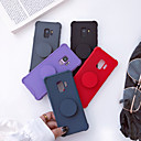cheap Galaxy S Series Cases / Covers-Case For Samsung Galaxy S9 Plus / S9 Shockproof / with Stand / Frosted Back Cover Solid Colored Soft TPU for S9 / S9 Plus / S8 Plus