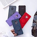 levne Galaxy S pouzdra / obaly-Carcasă Pro Samsung Galaxy S9 Plus / S9 Nárazuvzdorné / se stojánkem / Matné Zadní kryt Jednobarevné Měkké TPU pro S9 / S9 Plus / S8 Plus