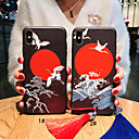 رخيصةأون أغطية أيفون-غطاء من أجل Apple iPhone XS / iPhone XR / iPhone XS Max مثلج / نموذج / اصنع بنفسك غطاء خلفي حيوان / كارتون ناعم TPU