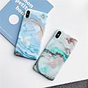저렴한 아이폰 케이스-케이스 제품 Apple iPhone XR / iPhone XS Max IMD / 반투명 / 패턴 뒷면 커버 마블 소프트 TPU 용 iPhone XS / iPhone XR / iPhone XS Max