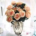 رخيصةأون أزهار اصطناعية-زهور اصطناعية 1 فرع كلاسيكي أوروبي Wedding Flowers الورود أزهار الطاولة