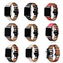 levne iPhone pouzdra-Watch kapela pro Apple Watch Series 4/3/2/1 Apple Butterfly Buckle Pravá kůže Poutko na zápěstí