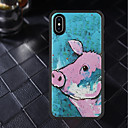 abordables Coques d'iPhone-Coque Pour Apple iPhone X / iPhone XR Motif Coque Animal Flexible TPU pour iPhone XS / iPhone XR / iPhone XS Max