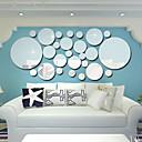 رخيصةأون ملصقات ديكور-لواصق حائط مزخرفة - ملصقات الحائط على المرآة 3D غرفة الجلوس / غرفة النوم / مطبخ