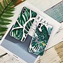 رخيصةأون أغطية أيفون-غطاء من أجل Apple iPhone XS / iPhone XR / iPhone XS Max نموذج غطاء خلفي النباتات ناعم TPU