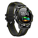 cheap Smart watches-MY1 Men Smartwatch Android iOS Bluetooth Smart Sports Waterproof Heart Rate Monitor Blood Pressure Measurement ECG+PPG Stopwatch Pedometer Call Reminder Activity Tracker / Touch Screen / Long Standby
