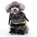 voordelige Hondenkleding & -accessoires-Honden kostuums Hondenkleding Klassiek Personage Rood Blauw Zwart Textiel Binnenwerk Kostuum Voor Corgi Beagle Bulldog Herfst Winter Man Feest / Avond Cosplay