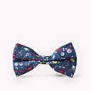 ieftine Cântare Digitale-Bărbați Floral Petrecere / Activ / Cute Stil Papion Cravată