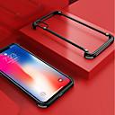 رخيصةأون ملصقات ديكور-غطاء من أجل Apple iPhone XS Max ضد الصدمات / مثلج / اصنع بنفسك مطاط حامي لون سادة قاسي ألمنيوم