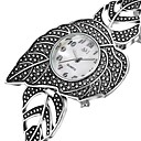 זול שעוני נשים-ASJ בגדי ריקוד נשים שעוני שמלה קווארץ שחור 30 m שעונים יום יומיים אנלוגי וינטאג' אלגנטית - שחור שנה אחת חיי סוללה / SRUO SR626SW