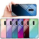 رخيصةأون حافظات / جرابات هواتف جالكسي A-غطاء من أجل Samsung Galaxy A6 (2018) / A8 2018 ضد الصدمات / ضد الغبار غطاء خلفي لون متغاير قاسي TPU / زجاج مقوى
