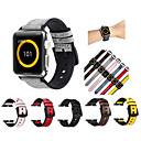 ieftine Becuri De Mașină LED-Uita-Band pentru Apple Watch Series 4/3/2/1 Apple Banderola Sport Silicon / Piele Autentică Curea de Încheietură