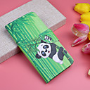 cheap Galaxy A Series Cases / Covers-Case For Samsung Galaxy Galaxy A30(2019) / Galaxy A50(2019) Wallet / Card Holder / Flip Full Body Cases Animal / Panda Hard PU Leather for A6 (2018) / Galaxy A7(2018) / A3(2017)
