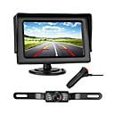 Недорогие USB концентраторы и свитчи-772 4 дюймовый TFT-LCD 480TVL 480 ТВ линий 1/4 дюймовый цветной CMOS с высоким разрешением Проводное 170° 1 pcs 135 ° 4.3 дюймовый Камера заднего вида / Автомобильный реверсивный монитор LED