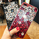 abordables Coques d'iPhone-Coque Pour Apple iPhone XS Max / iPhone 6 Strass Coque Strass Dur Acrylique pour iPhone XS / iPhone XR / iPhone XS Max
