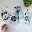 رخيصةأون أغطية أيفون-غطاء من أجل Apple iPhone XS / iPhone XR / iPhone XS Max IMD غطاء خلفي النباتات ناعم سيليكون